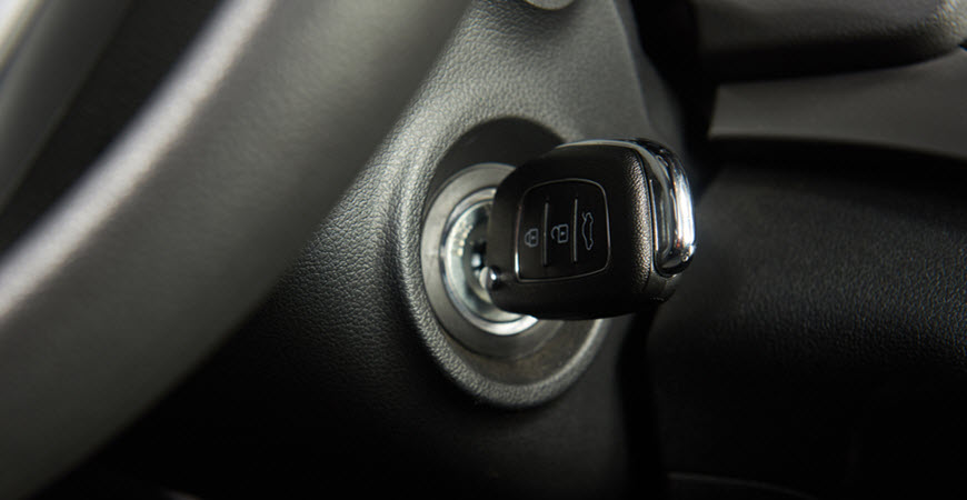 Porsche Ignition Key
