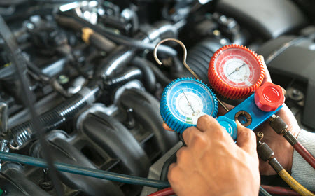 Car AC Servicing
