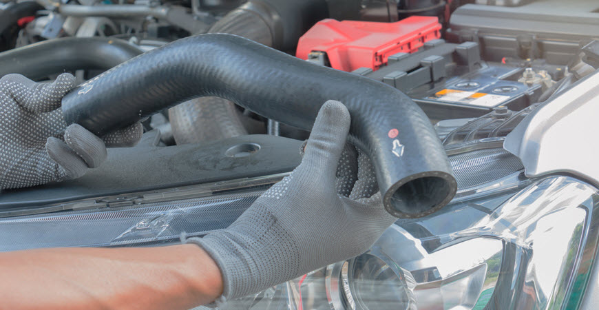 Mercedes-Benz Coolant Hose Replacement
