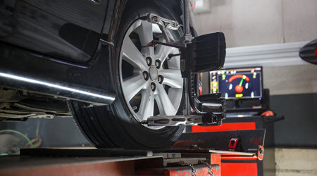 BMW Wheel Alignment Check