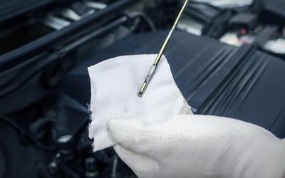 Volkswagen Engine Oil Level Check