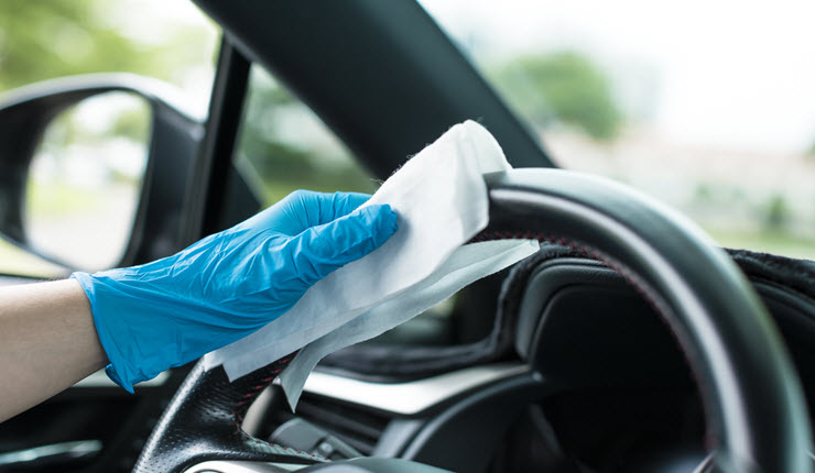 Tips to Sanitize the Interior of Your Car During the Covid-19 Pandemic