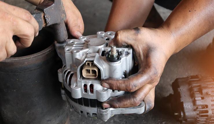 BMW Alternator Repair