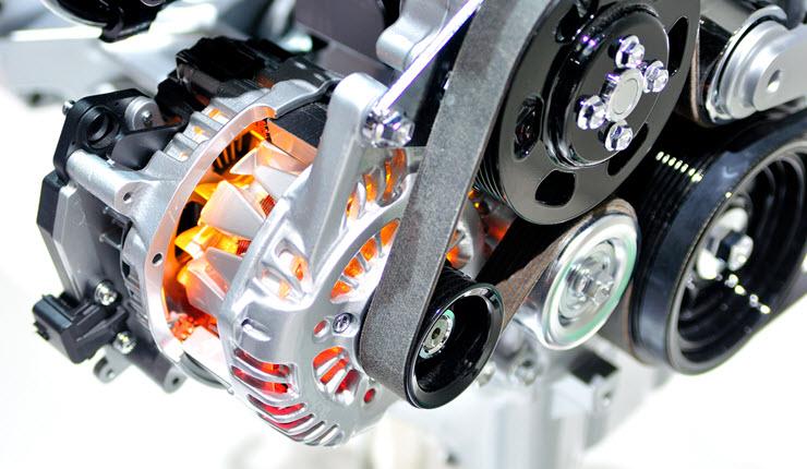 BMW Hot Alternator