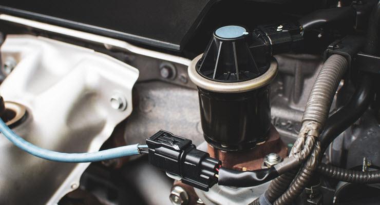 Audi EGR Valve Inspection